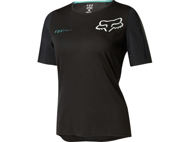 Fox Attack Pro Short Sleeve Jersey Women black